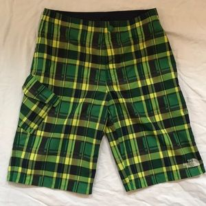 Plaid North Face Transitional Shorts